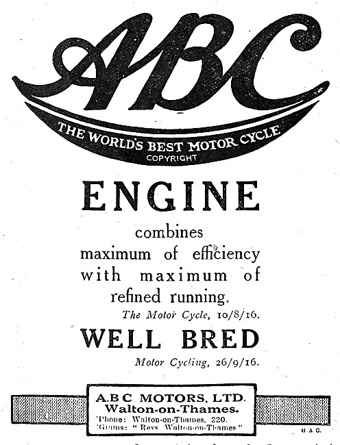 ABC Motor Cycle Engines