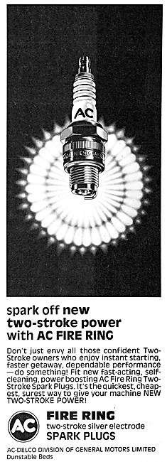 AC Fire Ring Two Stroke Spark Plugs