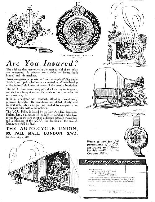 A.C.U - The Auto-Cycle Union - ACU