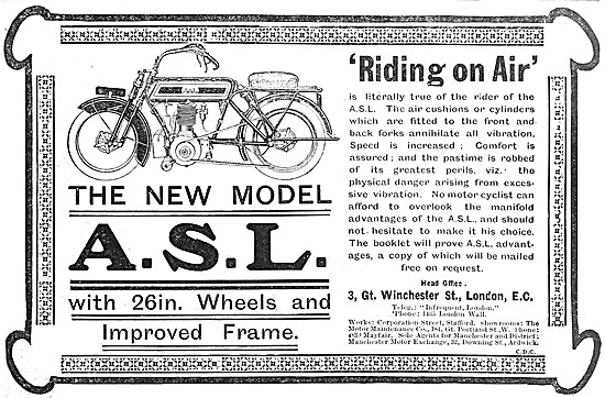 A.S.L.Motorcycles 1912