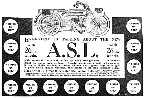 1912 A.S.L. JAP Single Motor Cycle