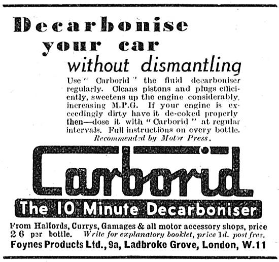 Carborid Decarboniser