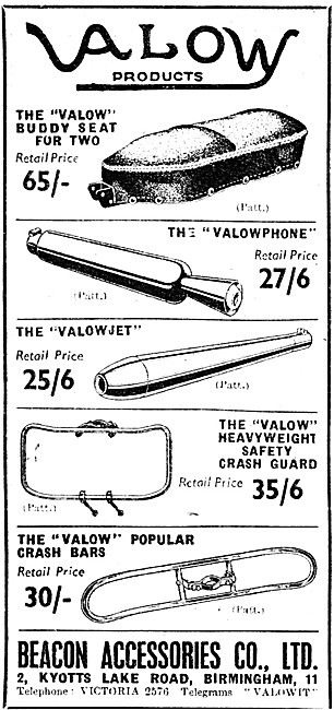 Valow Motor Cycle Accessories