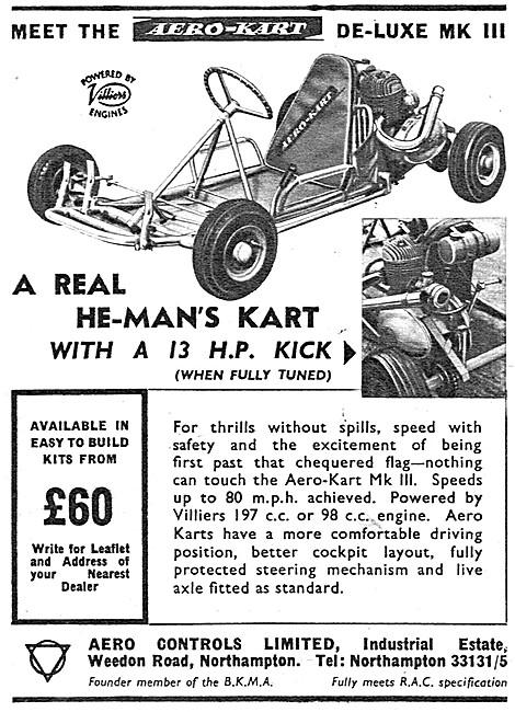 Aero Controls Aero-Kart De-Luxe MK III  - Go Karts