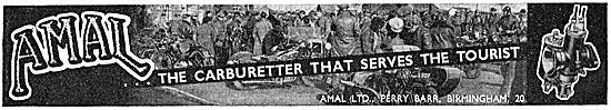 Amal Carburetters - Amal Motorcycle Carburetters