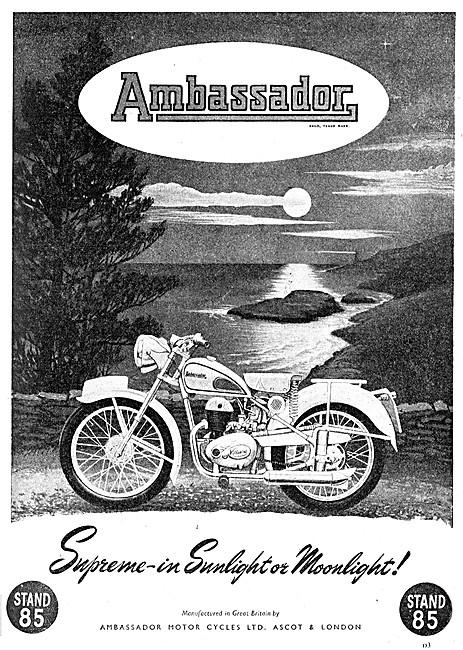 Ambassador Motor Cycles 1951