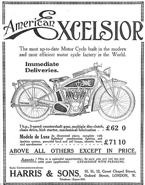 American Excelsior Big X Motorcycle