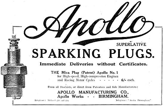 Apollo Sparking Plugs - Apollo Spark Plugs