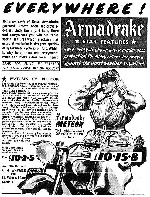 Armadrake Meteor Coat