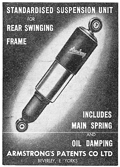 Armstrong Swinging Arm Suspension Units