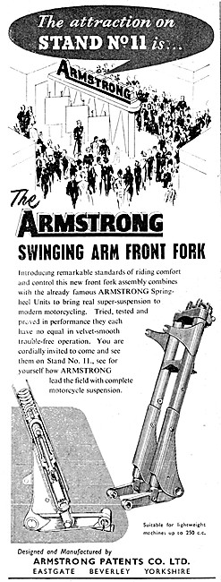 Armstrong Swinging Arm Front Fork