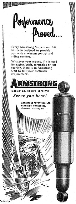 Armstrong Suspension Units - Armstromg Shock Absorbers