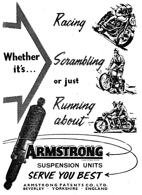 Armstrong Suspension Units - Armstrong Shock Absorbers