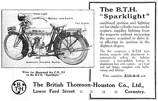 BTH Combined Ignition & Lighting Set For Two-Stroke Engines