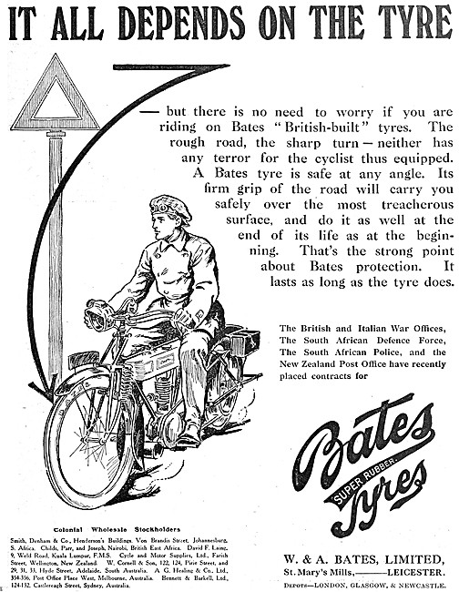 Bates Motor CycleTyres - Bates Tyres
