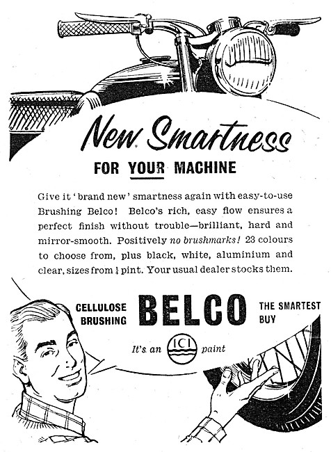 ICI Cellulose Brushing Belco