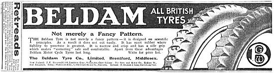 Beldam Motorycle Tyres 1917 Advert