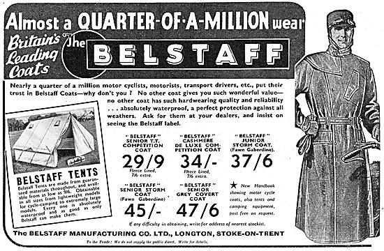 Belstaff Motor Cycle Wear