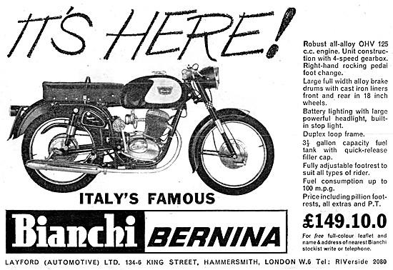 Bianchi Bernina 125 cc