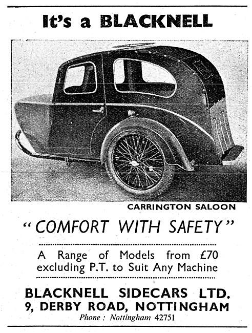 Blacknell Carrington Saloon Sidecar