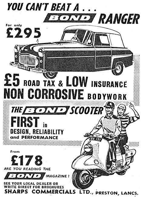 Bond Ranger - Bond Motor Scooter