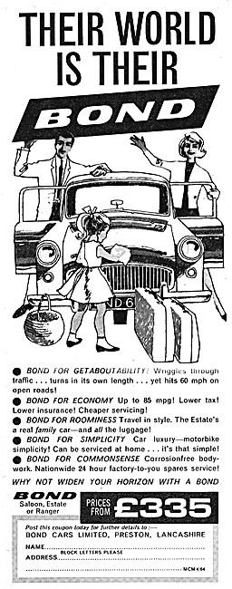 Bond Cars - Bond Ranger 1964