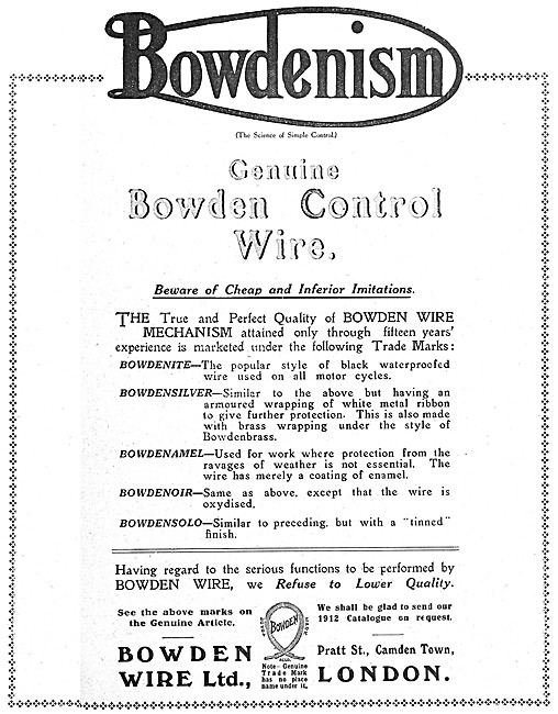 Bowden Cables -  Bowdenism Bowden Control Wire