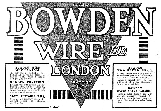 Bowden Cables - Bowden Wire Control Cables