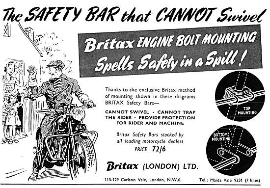 Britax Crash Bars - Britax Motor Cycle Safety Bars