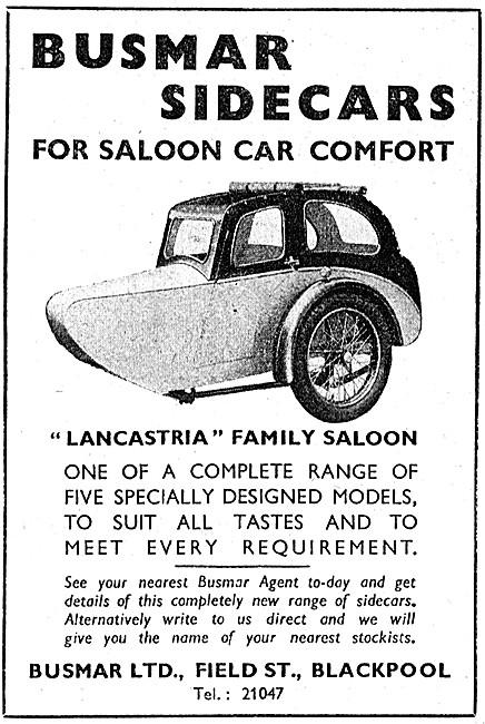 Busmar Lancastria Sidecar