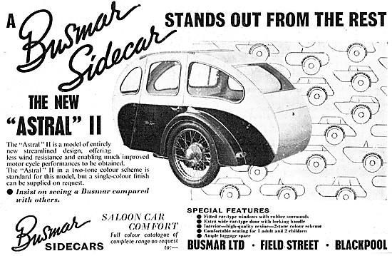 Busmar Astral II Sidecar