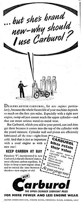 Carburol Upper Cylinder Lubricant - Fuel Additive