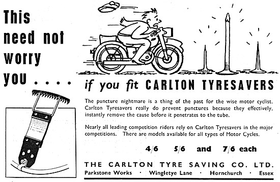 Carlton Tyresavers Puncture Protection System