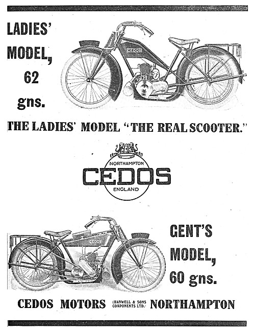 Cedos Motor Cycles - Hanwell & Sons Components Ltd