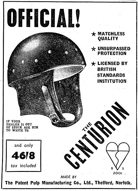 Centurion Motor Cycle Safety Helmets