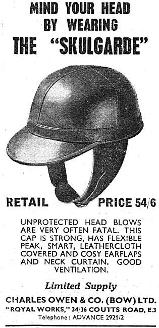 Owens Skulgarde Motorcycle Helmets