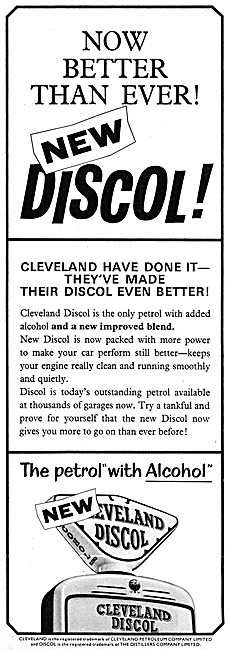 Cleveland Discol Petrol With Alcohol