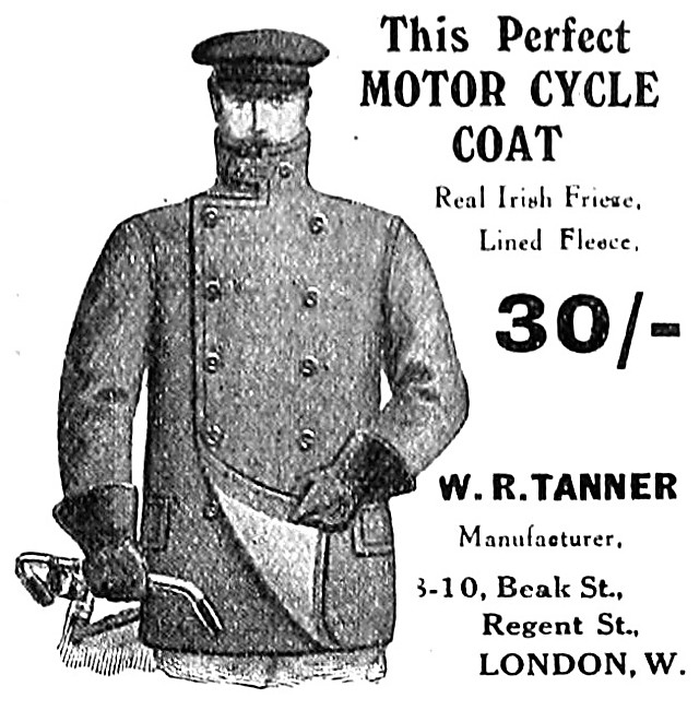 1907 Tanner Motor Cycle Coats