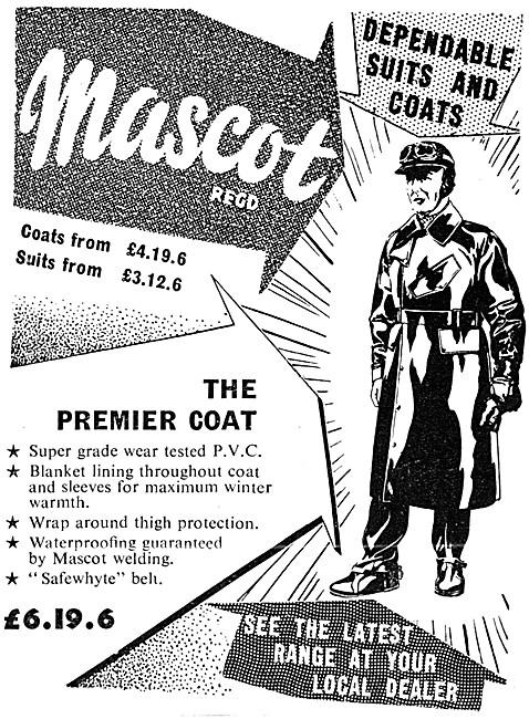 Mascot Motorcyclists PVC Coats