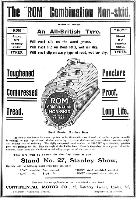 Continental Motor Cycle Tyres & Treads