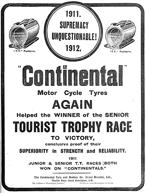Continental Motor Cycle Tyres