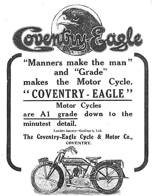 1919 Coventry-Eagle Motor Cycles