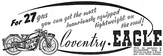 Coventry-Eagle Motor Cycles 1939