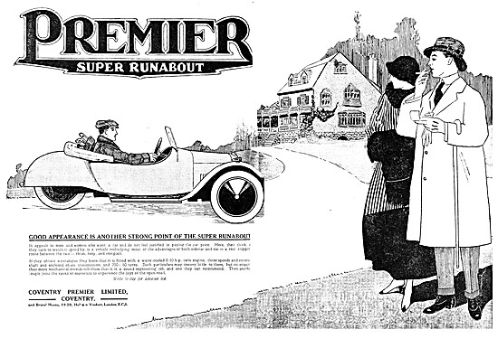 Coventry Premier Super Runabout Three Wheel Car