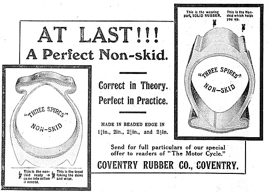 Coventry Rubber Motorcycle Tyres