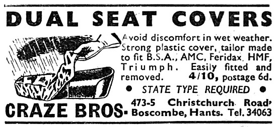 Craze Brothers Dual Seat Covers