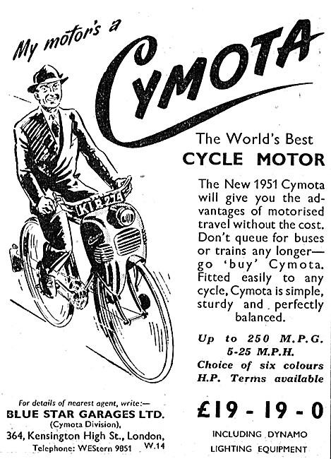Cymota Bicycle Motor