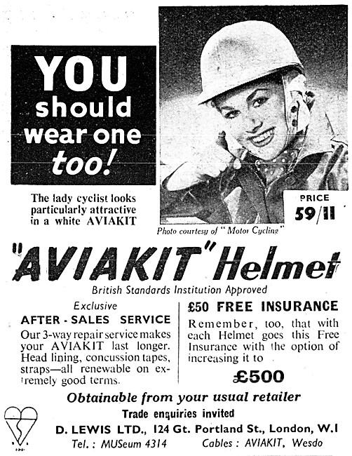 Lewis Leathers - Lewis Aviakit Helmet