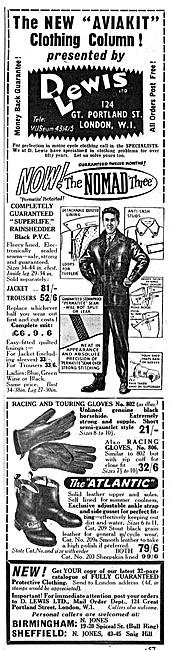 Lewis Leathers -  Aviakit Motor Cycle Clothing