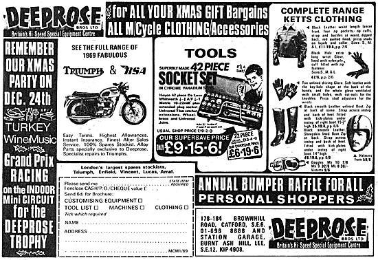 Deeprose Brothers Motor Cycle Sales & Service